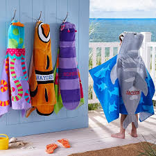 personalized beach chairs. Stephen Joseph® Beachy Fun Hooded Beach Towels Personalized Chairs