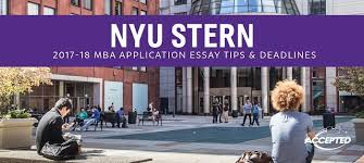 how to write nyu stern essays that get you accepted find out more about nyu stern here