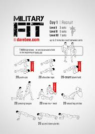 my new challenge military fit 30 day fitness program