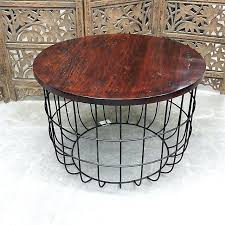 wire coffee table wire coffee table ikea wire basket coffee table