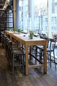 Table Bar En Bois Detournement Bobine Chantier Touret Bois Vintage