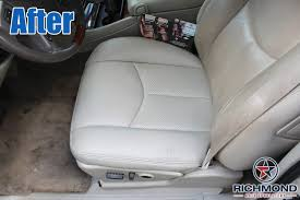 2003 2006 cadillac escalade leather seat cover driver bottom tan