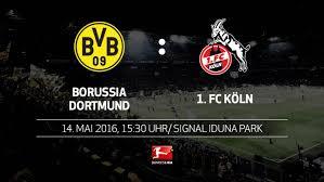 Liveticker mit allen spielereignissen, toren und statistiken zum spiel 1. Bundesliga Vorschau Borussia Dortmund 1 Fc Koln 34 Spieltag