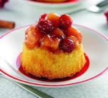 apple cranberry pudding