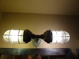 industrial bathroom lighting. enchanting industrial style bathroom lighting and bar with rustic a