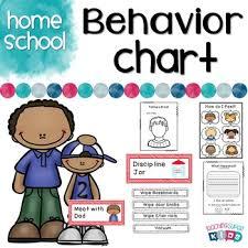 Biblical Behavior Chart Homeschool Behavior Chart