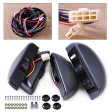CITALL Power Window Lock Kit 4 Rocker Switch Button Window Switch ...