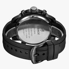 buy weide men analog digital watch black wh3405b 5c bonzeal com rs 1 950 00