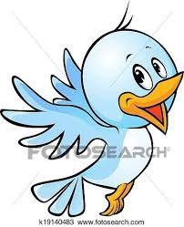 blue bird flying clipart. Perfect Clipart Clipart  Cute Blue Bird Flying Cartoon Fotosearch Search Clip Art  Illustration Murals On Blue Bird Flying L