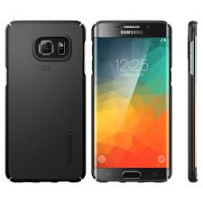 samsung galaxy s6 edge plus. spigen thin fit case for samsung galaxy s6 edge plus (black) 4
