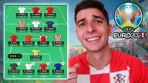 MY EURO 2021 FANTASY TEAM & LEAGUE - YouTube