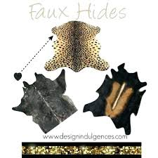 faux hide rugs faux hide rug faux animal hide rugs doubtful interiors faux cowhide rug faux