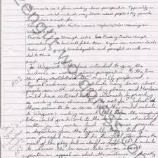 handwriting essay thumb cover letter  handwriting essay dr faustus essays professional resume writing services in scan