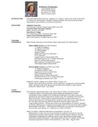 Sample Resume Teacher Fresh Sample Resume For Teachers India Doc