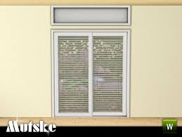 mutske39s perfect fit sliding door 2x1 blinds for sliding glass doors horizontal