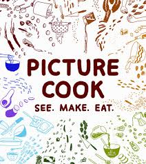 just follow the drawings and start cooking book review cook book clipart