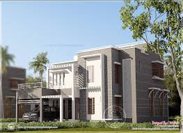 contemporary home in kerala house square feet details