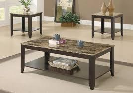 table set 3pcs set espresso