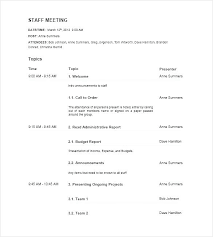 Simple Minutes Of Meeting Sample Sample Project Meeting Minutes Template Free Download Of