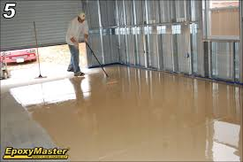 epoxy flooring basement. Tips For An Easier Do-It-Yourself Epoxy Garage Or Basement Flooring Project Photo
