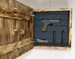 Hidden Gun Coat Rack Gun storage Etsy 62