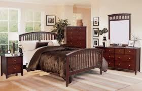 mission style bedroom set dark brown