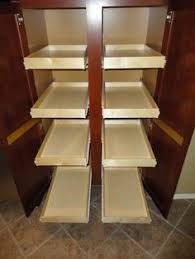 ... Kitchen Cabinets, Slide Out Cabinet Shelves ...