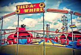 Image result for tilt-o-whirl carnival ride