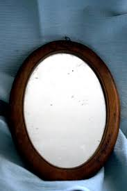 antique oval mirror frame. Uncategorized Wooden Oval Mirror Vintage Antique . Rustic Mirror. Reclaimed Wood Frame