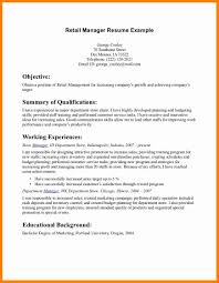 6 Resume Objective For Retail Forklift Resume