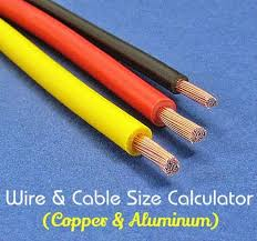 Copper Current Electrical Cable Size Chart Amps Www