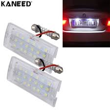 Bmw X5 License Plate Light Replacement For Bmw E53 X5 License Plate Light Rear Lamp 2w 6000k 120lm