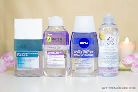 waterproof eye makeup removers from l oreal garnier nivea the body
