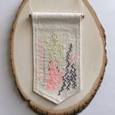 embroidery art abstract embroidery