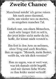 Zweite Chance Manchmal Möcht Ich Gerne Gedichte Von Norbert