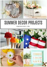 summer diy projects decorating ideas somewhat simple fun easy diy projects for apartment decorating easy