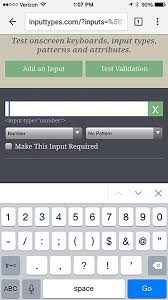 Form Inputs: The Browser Support Issue You Didn't Know You Had ...