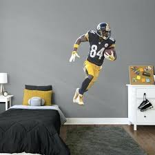 steeler wall decals officially licensed life size removable wall decal country home ideas home ideas