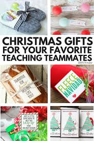 easy fun gifts for your teaching team