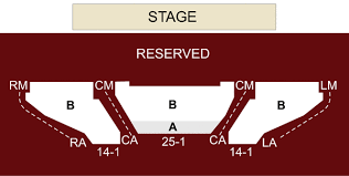 The City Theatre Detroit Mi Seating Chart Stage