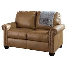 Lottie DuraBlend Twin Sofa Sleeper Ashley Furniture Tar
