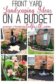 Design Your Own Front Garden Simple Front Yard Landscaping Ideas On A Budget Diy