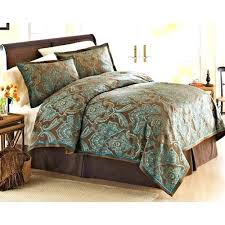 better homes and gardens comforter set. Wonderful And Better Homes And Garden Teal Jacquard Comforter Cover Mini Set Brown Gardens  Sheets Walmart M