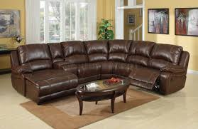 Black Leather Sectional Sofa With Recliner Living Room Black Leather Sectional Couch Full Grain Sofa Gray