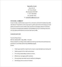 Retail Job Description For Resume From Retail Resume Examples Best