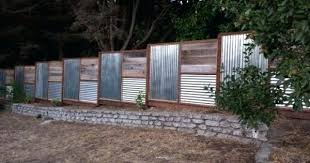 sheet metal fence designs fence designs with tin roofing corrugated metal fence panels decorating tips chart