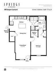 Delightful 1 Bedroom, 1 Bath 773 Sf Apartment At Springs At Bettendorf In Bettendorf,  IA