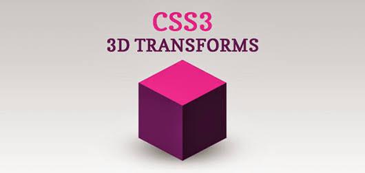 CSS3 3D Transformation
