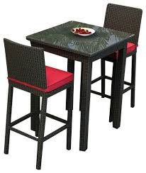 high top patio table set elegant high top bar set stunning bar top table and chairs
