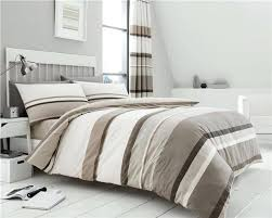 blue grey duvet cover set and white double navy gray stripe bed sets in taupe brown